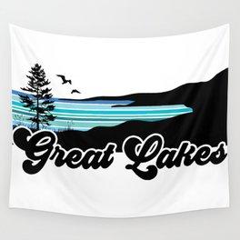 Great Lakes Coast Wall Tapestry