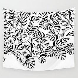 MONSTERA / pattern pattern Wall Tapestry