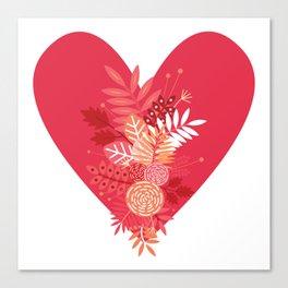 Feelings (Pink) Canvas Print