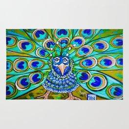 Jo Jo's Peacock Rug