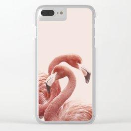 FLAMINGO FLAMINGO Clear iPhone Case