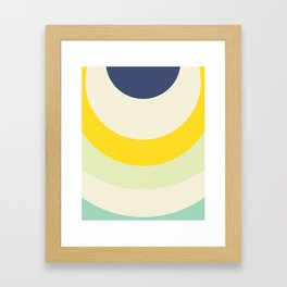 Cacho Shapes X Framed Art Print