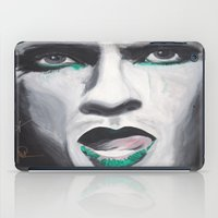neil gaiman iPad Cases featuring Neil by 4:F by Freddie:4