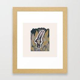 Leaf Eater Framed Art Print