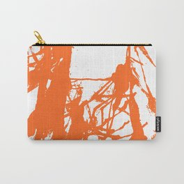 Orange Ink Carry-All Pouch