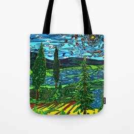 Perception of a Landscape Tote Bag