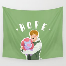 Jhope and Mang Wall Tapestry