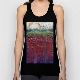 Colors of the Season (christmas abstract) Unisex Tank Top
