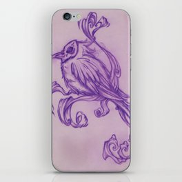 Voodoo feather iPhone Skin