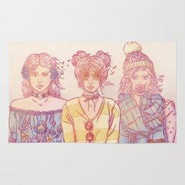 Three Wise Sisters Rug