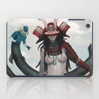 misfits iPad Cases featuring Samurai-Sugar x misfits 1 by kunkka