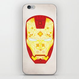 Day Of The Dead Iron Man iPhone Skin