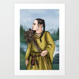 Eyolf the Shaman Art Print