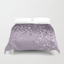 Sparkling Lavender Lady Glitter #2 #shiny #decor #art #society6 Duvet Cover