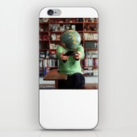 globe iPhone & iPod Skins featuring Globe by Kelly Nicolaisen