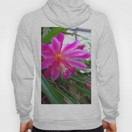 """BLOOMING FUCHSIA PINK """" ORCHID CACTUS"""" FLOWER Hoody"""