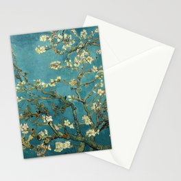 Van Gogh - Blossoming Almond Tree Stationery Cards