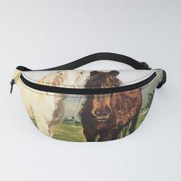Caballos/Cabalos/Horses Fanny Pack
