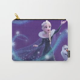 Elsa and Olaf Carry-All Pouch