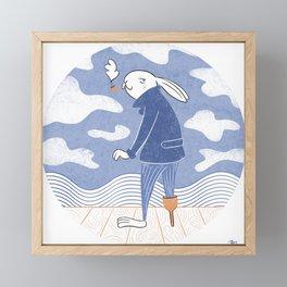 Sea Captain Framed Mini Art Print