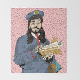 Mr. Postman Throw Blanket