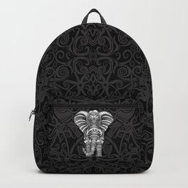 elephant with aztec pattern Backpack