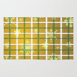 Gamboge Sycamore Snowflakes Rug