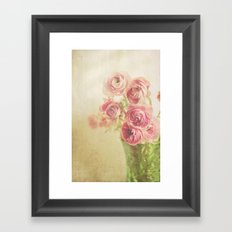 Beauty in a vase.... Framed Art Print