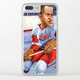 Mr. Hockey: Gordie Howe Clear iPhone Case