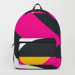 Pink Pattern Panther Backpack