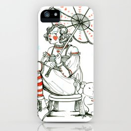 The Princess of Hearts iPhone Case