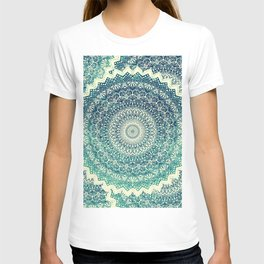 BICOLOR COLD WINTER MANDALA T-shirt