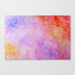Soft Watercolor Canvas Print