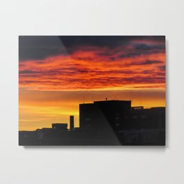 MMC Sunset Silhouette (2) Metal Print