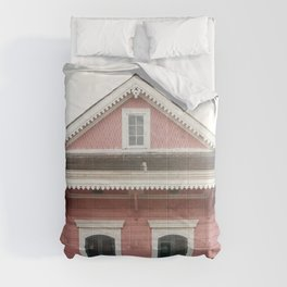 Pink House in Nola | New Orleans  Comforters