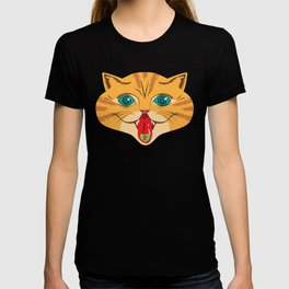 Kiss Me Ginger Cat T-shirt