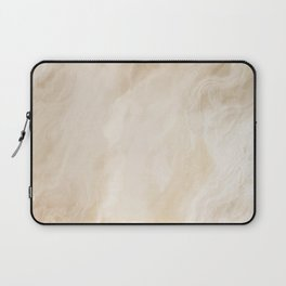 Brown Turquiose Marble texture Laptop Sleeve