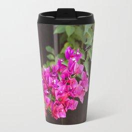 Pink Bougainvillea Travel Mug