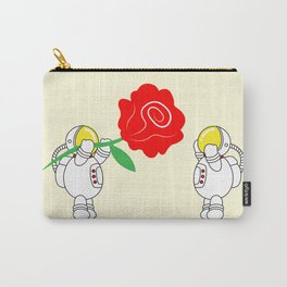 Astro Love Story | Roses Are Red | Valentines | Love You | pulps of w Carry-All Pouch