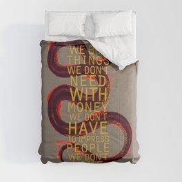 false behavior (variant 4) Comforters