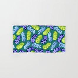 Mitochondria in Cool Colors Hand & Bath Towel