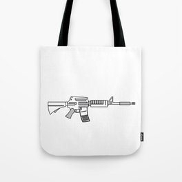 """""""Come and Take It"""" tee design. Makes a unique gift for gun lovers out there! Come one grab it now!   Tote Bag"""