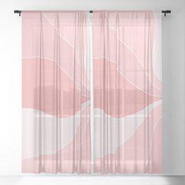 Rose Petals Sheer Curtain