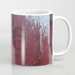 Red Wood Coffee Mug