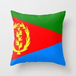 Flag of Eritrea Throw Pillow