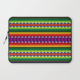 Colorful Woven South American Pattern Laptop Sleeve