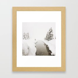 Into Narnia  Framed Art Print