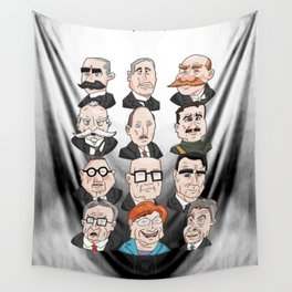 Presidents of Finland Wall Tapestry