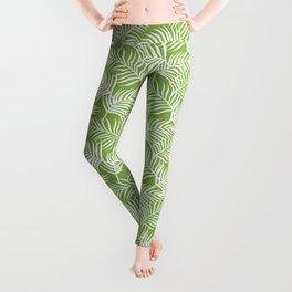 Palm Leaves_Greenery Leggings