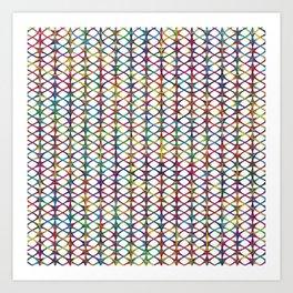 Cuben Rings Art Print
